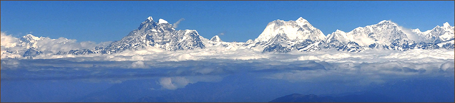 Rundflug Himalaya Mount Everest