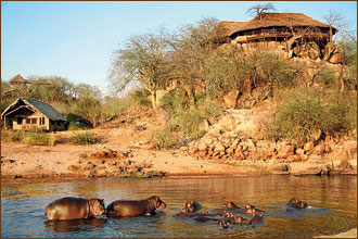 Camps im Ruaha Nationalpark