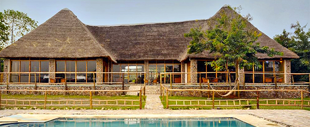 Ihamba Lodge im Queen Elizabeth NP
