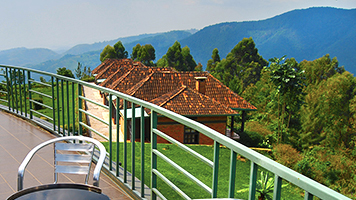 Top View Hill Lodge im Nyungwe NP