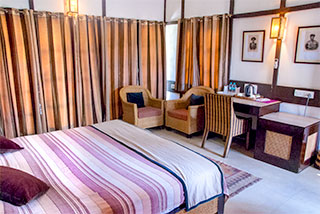 double room Infinity Wilderness Resort Kaziranga